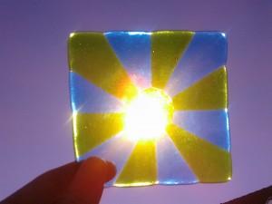 onderzetter van glas